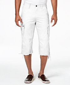 I.N.C. Men's Extra Long Messenger Shorts, Created for Macy's