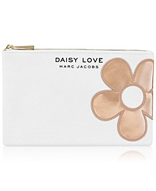 Receive a Complimentary Pouch with any large spray purchase from the MARC JACOBS Daisy fragrance collection