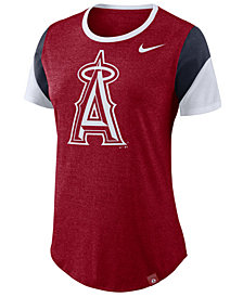 Nike Women's Los Angeles Angels Tri-Blend Crew T-Shirt