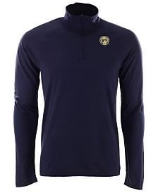 adidas Men's Columbus Blue Jackets Secondary Logo Climatelite Quarter-Zip Pullover