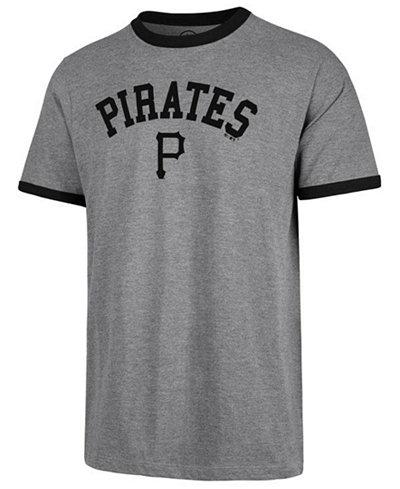 '47 Brand Men's Pittsburgh Pirates Capital Ringer T-Shirt