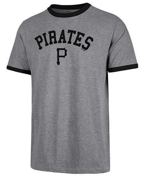 6dc326603 47 Brand Men s Pittsburgh Pirates Capital Ringer T-Shirt   Reviews ...