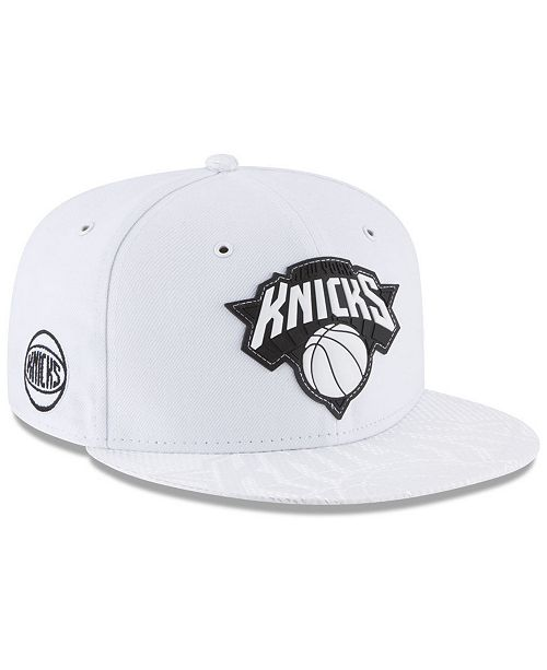 save off 1890c c0f65 ... New Era New York Knicks Back 1 2 Series 9FIFTY Snapback Cap ...