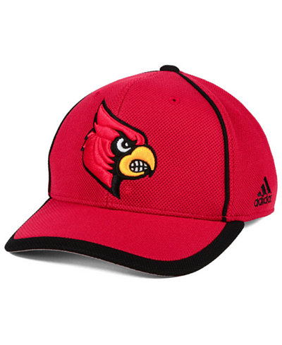 adidas Louisville Cardinals Piping Hot Adjustable Cap