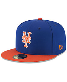New Era Boys' New York Mets Batting Practice Prolight 59FIFTY FITTED Cap