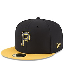 New Era Boys' Pittsburgh Pirates Batting Practice Prolight 59FIFTY FITTED Cap