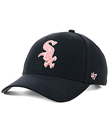 '47 Brand Chicago White Sox Navy Pink MVP Cap