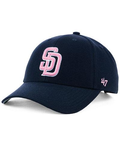 '47 Brand San Diego Padres Navy Pink MVP Cap