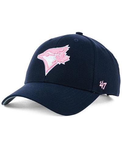 '47 Brand Toronto Blue Jays Navy Pink MVP Cap