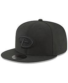 New Era Arizona Diamondbacks Blackout 59FIFTY Fitted Cap