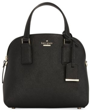 KATE SPADE Cameron Street - Lottie Leather Satchel - Black