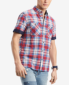 Tommy Hilfiger Men's Leo Plaid Shirt