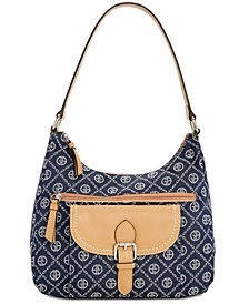 Giani Bernini Signature Chain Hobo, Created for Macy's