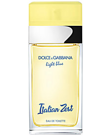 DOLCE&GABBANA Light Blue Italian Zest Pour Femme Fragrance Collection