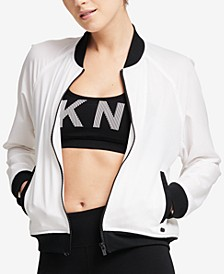 Sport Graphic Bomber Jacket
