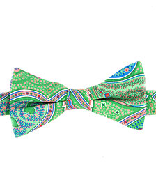 Tommy Hilfiger Men's Tropic Paisley To-Tie Silk Bow Tie