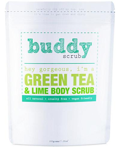 Buddy Scrub Green Tea & Lime Body Scrub, 7-oz.