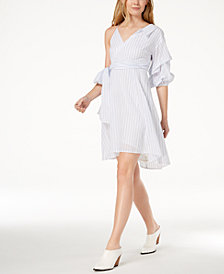 ASTR The Label One-Sleeve High-Low Dress