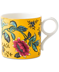 Wedgwood Wonderlust Yellow Tonquin Mug