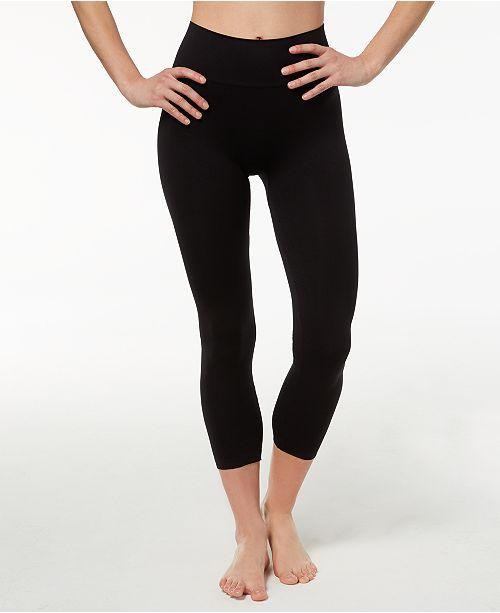24f261d96b85d Hanes Women's Perfect Bodywear Seamless Capri Leggings & Reviews ...