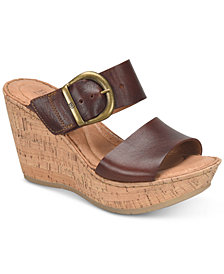 Born Emmy Wedge Sandals