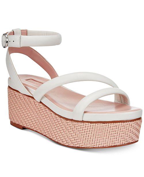 473bf0468e7 Avec Les Filles Ava Flatform Sandals - Sandals   Flip Flops - Shoes ...