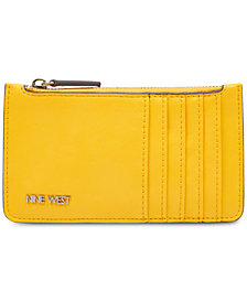 Nine West Table Treasures Zip Card Case