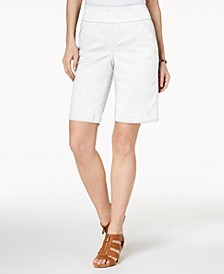Comfort-Waist Bermuda Shorts, Created for Macy's