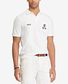 Polo Ralph Lauren Men's CP-93 Classic Fit Mesh Polo, Created for Macy's