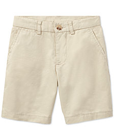 Polo Ralph Lauren Cotton Chino Shorts, Little Boys