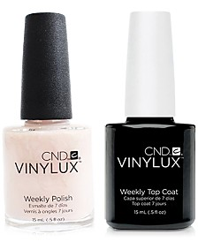 Creative Nail Design Vinylux Romantique Nail Polish & Top Coat (Two Items), 0.5-oz., from PUREBEAUTY Salon & Spa