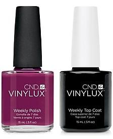 Creative Nail Design Vinylux Tinted Love Nail Polish & Top Coat (Two Items), 0.5-oz., from PUREBEAUTY Salon & Spa