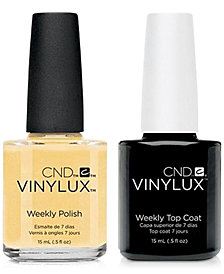 Creative Nail Design Vinylux Honey Darlin' Nail Polish & Top Coat (Two Items), 0.5-oz., from PUREBEAUTY Salon & Spa