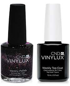 Creative Nail Design Vinylux Nordic Lights Nail Polish & Top Coat (Two Items), 0.5-oz., from PUREBEAUTY Salon & Spa