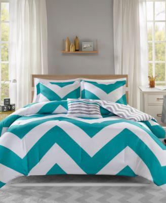 Mi Zone Libra Reversible 4-Pc. Full/Queen Comforter Set