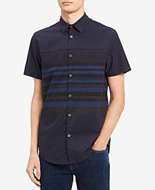 Calvin Klein Jeans Men's Horizontal Striped Shirt