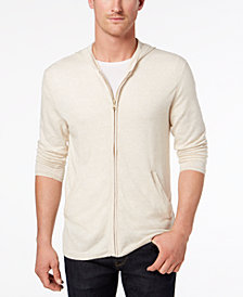 Tasso Elba Island Men's Lightweight Hooded Sweater, Created for Macy's