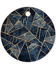 Deny Designs Elisabeth Fredriksson Blue Stone Cutting Board