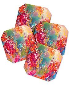 Deny Designs Stephanie Corfee Razzle Dazzle Coaster Set