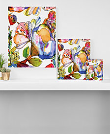 Deny Designs CayenaBlanca Blossom Pastel Canvas Collection