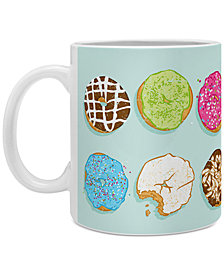 Deny Designs Evgenia Chuvardina Sweet Donuts Coffee Mug