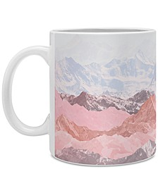 Iveta Abolina Pastel Mountains Coffee Mug
