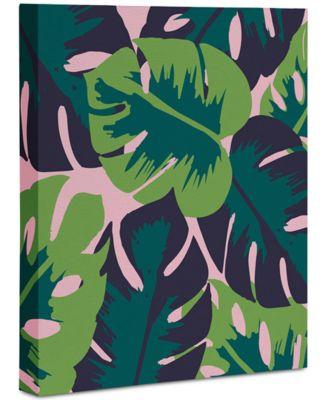 "Zoe Wodarz Patio Party Art Canvas 8x10"""