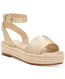 Vince Camuto Kathalia Flatform Espadrille Sandals