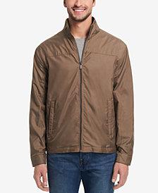 Weatherproof Men's Perforated Full-Zip Moto Jacket