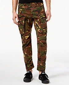G-Star RAW Men's Tapered Fit Stretch Camo Cargo Pants