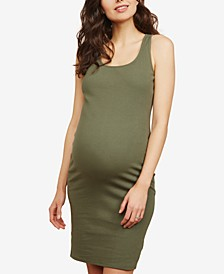 Ribbed Sheath Dress