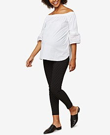 The Maia Secret Fit Belly Skinny Ankle Pants