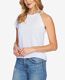 1.STATE One-Shoulder Striped T-Shirt
