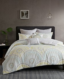 Matti Cotton 7-Pc. King/California King  Comforter Set